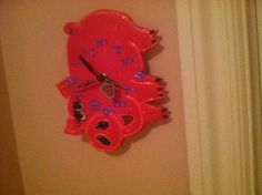 My pig clock