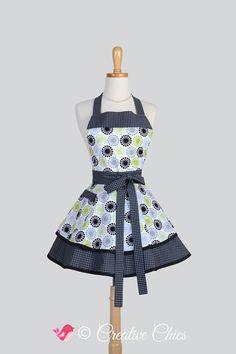 Etsy listing https://www.etsy.com/listing/197577662/ruffled-retro-apron-woman-apron-cute