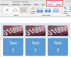Change Colors for a SmartArt Graphic in #PowerPoint 2013