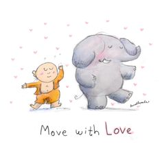 Today's Doodle: move with love
