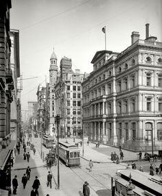 Shorpy Historical Photo Archive :: Philadelphia: 1906 chestnut St.