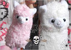Japan Cartoon Visual Lolita Fantasy Llama Pygmy Marshmallow Stuffed Purse | eBay