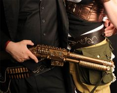 steampunk shotgun- maybe for the hubby :)