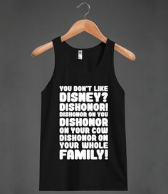 You Don't Like Disney? Dishonor! - Nerds are Cool - Skreened T-shirts, Organic Shirts, Hoodies, Kids Tees, Baby One-Pieces and Tote Bags Custom T-Shirts, Organic Shirts, Hoodies, Novelty Gifts, Kids Apparel, Baby One-Pieces | Skreened - Ethical Custom Apparel