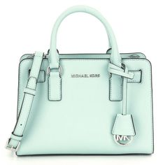 Michael Kors Dillon CeladonTop Zip East/West Satchel Handbag