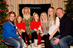 Family Love  Santa  Four Daughters  Twins