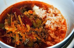 Cabbage Roll Soup Cabbage Roll Soup, Cabbage Rolls, Chilis, Stew, Sauces, Delish, Curry, Ethnic Recipes, Blog