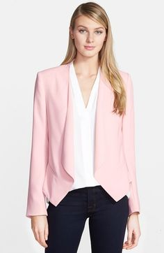 Vince Camuto Drape Front Blazer (Regular & Petite) available at #Nordstrom
