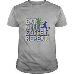 I Love Eat Sleep Soccer Repeat T-Shirts