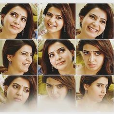 #Samantha Face With Different Expressions Sooooooo cute!!