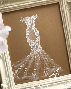 Mermaid Wedding, Lace Wedding, Cinderella, Disney Princess, Weeding Dresses, Art, Fashion, Art Background, Moda