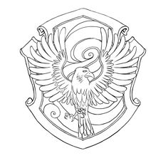 Harry Potter Deathly Hallows Coloring Page kid crafts