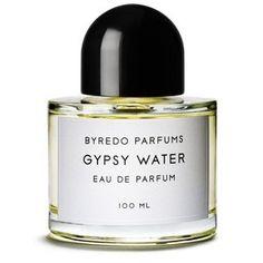 GYPSY WATER di Byredo.  La dimensione glamour dello stile di vita nomade: terreno fresco, fuochi, il vivere a contatto con la natura  agrumato,legnoso,bergamotto,iris,ambra,vaniglia