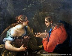 Carlo Maratta – Cristo e la donna Samaritana