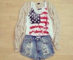 'merica #tansweater #highwaisted #shorts