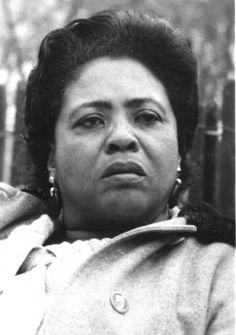 Fannie Lou Hamer  For understanding and fighting for the right to vote that is still in peril today!  I think of her every time I vote. No one should ever skip voting.  She gave her Life for us to have that right.