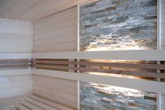 Glasfront-Sauna, luxuriös, design, transparent   Apart-Sauna - Ihre individuell geplante Sauna für Zuhause vom Hersteller   Apart-Sauna Concrete Bathroom, Bathroom Spa, Bathroom Ideas, Sauna Design, Design Design, Interior Design, Natural Swimming Pools, Natural Pools, Infrarot Sauna
