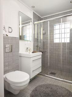 Badet i huset vårt i Sponheimveien, Fredrikstad.