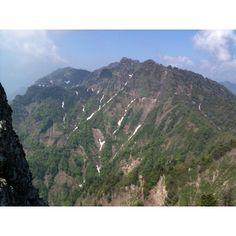 戸隠山登山 西岳
