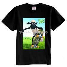 Camiseta manga corta infantil de LA OVEJA SHAUN