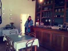 Old coffee shop in Matjiesfontein