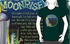 Tequila Moonrise recipe by Valxart     by Valxart is available on many styles & colors on shirts, hoodies and Waterproof vinyl stickers that will last 18 months outdoors   See more at Valxart.com or http://zazzle.com/valxartgarden*  or http://zazzle.com/valxart*