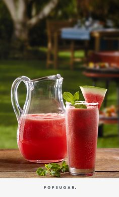 Hydrating and sweet, watermelon is the perfect summer produce to include in your margaritas. This watermelon margarita recipe is the perfect refreshing treat to sip on while at the beach or pool this summer.