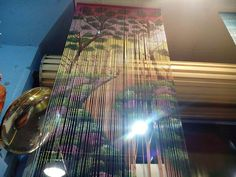 Forest bamboo curtain by global village Bamboo Curtains, Global Village, Blinds, Home Decor, Bamboo Blinds, Bamboo Shades, Decoration Home, Room Decor, Shades Blinds