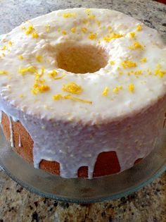 When life gives you lemons … Yes, again I say it … Lemon Chiffon Heavenly Cake :) More than YUM … pure lush, sinfully required joy :)~