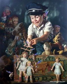 Bob Byerley Children - Bob Byerley Children's Print Puppets and Marionettes --- #Theaterkompass #Theater #Theatre #Puppen #Marionette #Handpuppen #Stockpuppen #Puppenspieler #Puppenspiel
