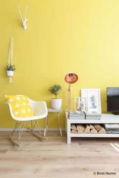 De trendkleur geel in je interieur | Binti Home blog : Interieurinspiratie, woonideeën en stylingtips