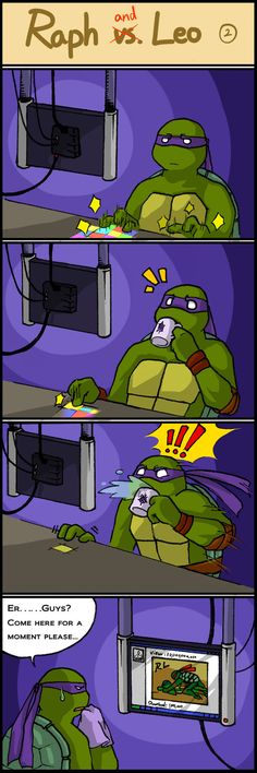 TMNT comic strip 2 by Colend