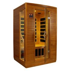 Dynamic Infrared Luxury 2 Person IR Carbon FAR Infrared Sauna & Reviews | Wayfair