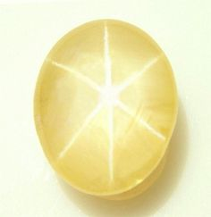 Yellow sapphire is the Jyotish gem related to Jupiter, which is the planet of happiness, prosperity, luck and fortune. Minerals And Gemstones, Crystals Minerals, Rocks And Minerals, Stones And Crystals, Loose Gemstones, Gem Stones, Cool Rocks, Beautiful Rocks, Star Sapphire