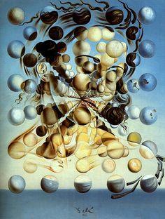 galatea of the spheres-Dali