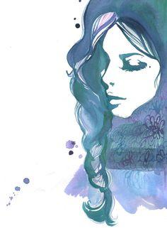 Bleu {Jessica Durrant}