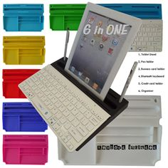a-Pad stand/organizer 6 in ONE, Executive restt WITH Bluetooth Keyboard by myKeyO on Opensky