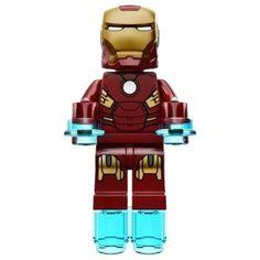 Lego Marvel Super Heroes Iron man Minifigure Kids love this guys Marvel Avengers, Lego Marvel Super Heroes, Marvel Comics, Legos, Lego Iron Man, Nerd Fitness, Lego People, Lego Figures, Lego Worlds