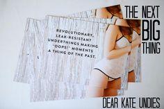 Coming soon to Eudora - Leak-Resistant Underwear That is Stylish by Dear Kate | www.myeudora.com.au