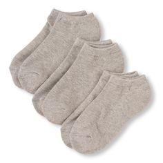 Unisex Kids Basic Ankle Socks 3-Pack