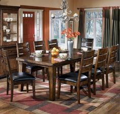 Rustic Burnished Dark Brown Larchmont Dining Room Extension Table Famous Brand Furniture,http://www.amazon.com/dp/B003X1Q70U/ref=cm_sw_r_pi_dp_7qWotb0CADN6C4GK  love this table