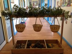 "Hanging baskets for sorting from Inspirational Early Learning ("",)"