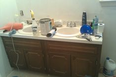 Old Master Bathroom Makeover - BEFORE 6