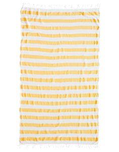 yellow_striped_Beach_Towel_{the-little-market}