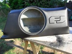 Custom 1cu. Ft subwoofer enclosure with bedliner exterior