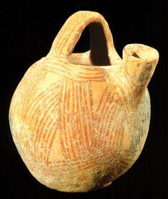 Vasilha, IV milênio a.C., Museu de Israel, Jerusalém.