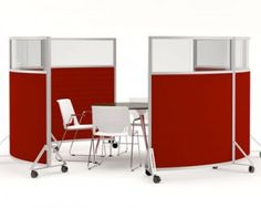 If you are looking for a flexible way to create meeting rooms and breakout areas within an openplan office then the Mobile Screen Pods could be the solution for you