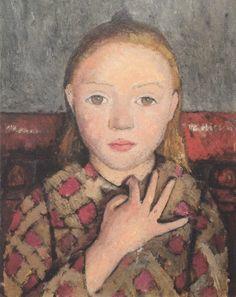Paula Modersohn-Becker, Portrait of a Girl, c. 1905.