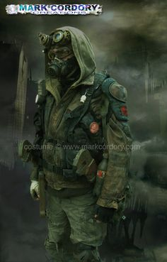 Post apocalypse Fallout LARP - LRP - Cosplay costume made by Mark Cordory Creations