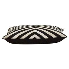 Jayson Home Mod Zebra Floor Cushion ($550) ❤ liked on Polyvore featuring home, home decor, throw pillows, zebra home accessories, black throw pillows, zebra throw pillows, black home decor and modern accent pillows